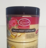 FACE & BODY EXFOLIANT 4 in 1 ROSE& Bio Arganöl 300 ml
