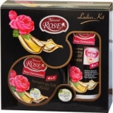 Ladies Kit ROSE & BIO ARGAN OIL4 in 1  Peel Off Maske&Soft Cream